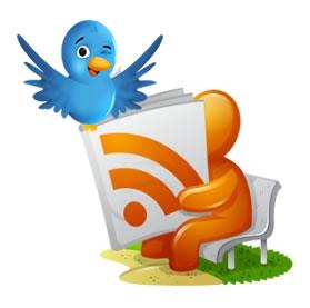 Suscribirte mediante RSS a Twitter