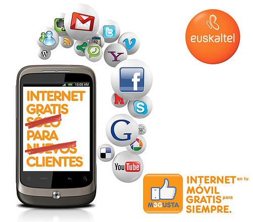 Configuración acceso a Internet Euskaltel