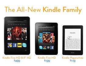Familia Kindle by Amazon