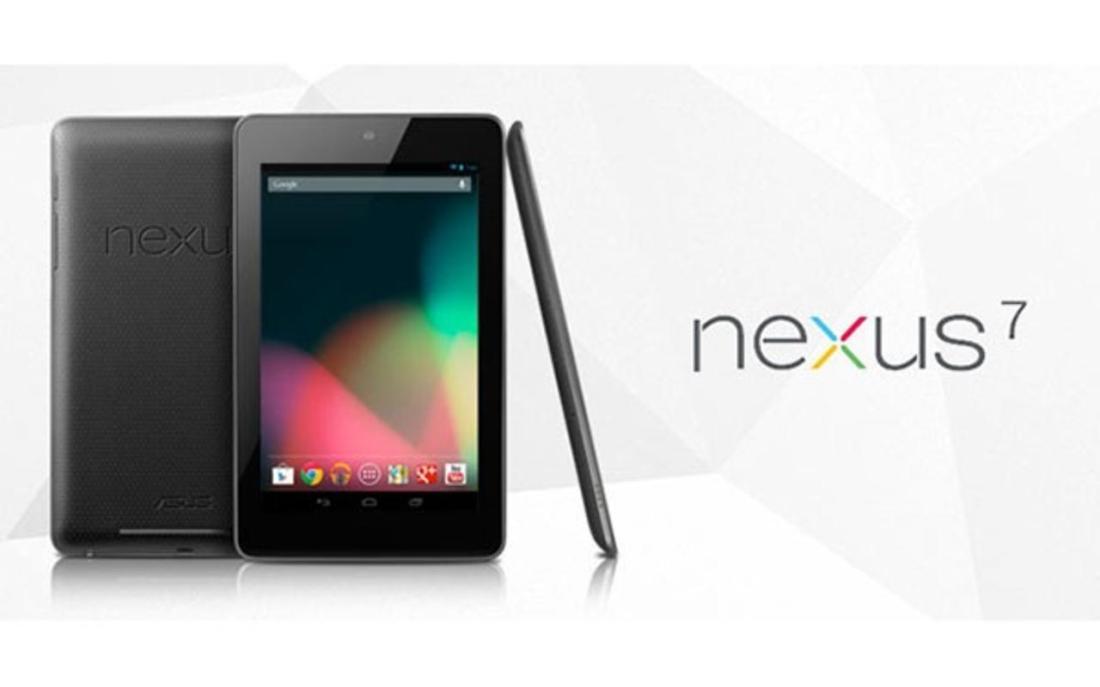 Imagen y logo de Nexus 7