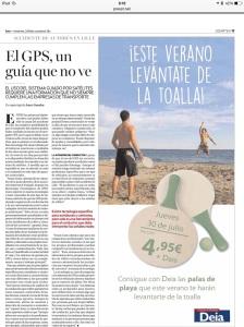 """""""El GPS, un guía que no ve"""""""