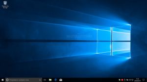 Captura de pantalla de Escritorio de Windows 10 Creators Update